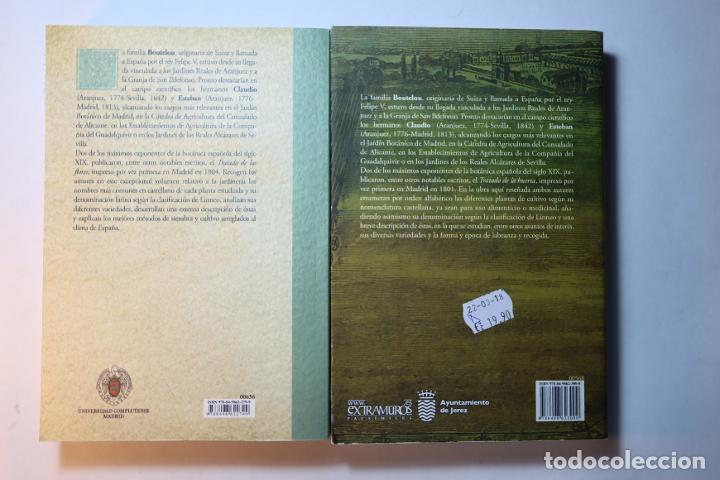 Libros: 2 libros facsímiles relativos a la huerta y las flores. Claudio y Esteban Boutelou Tratado de 1801/4 - Foto 2 - 235543090