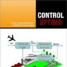Libros: CONTROL ÓPTIMO. Lote 237284730
