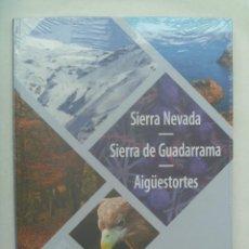 Libros: GUIA PARA RECORRER NUESTROS PARQUES NACIONALES: SIERRA NEVADA - GUADARRAMA - AIGÜESTORTES.PRECINTADO. Lote 240377730