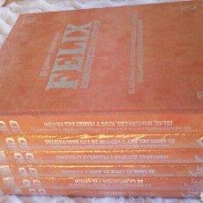 Libros: EL LEGADO NATURAL DE FÉLIX RODRÍGUEZ DE LA FUENTE. EDICION COLECCIONISTA. CETRERÍA, LOBO. Lote 242903875