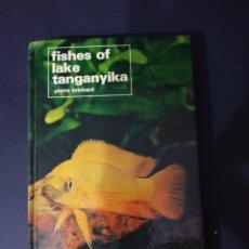 Libri: FISHES OF LAKE TANGANYIKA.. Lote 243278965
