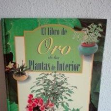 Libros: EL LIBRO DE ORO DE LAS PLANTAS DE INTERIOR. Lote 243424805