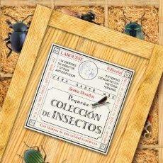 Libros: PEQUEÑA COLECCION DE INSECTOS. LAROUSSE. Lote 243553070