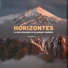 Libros: HORIZONTES,LA GRAN DIVERSIDAD DE LOS PAISAJES ESPAÑOLES / JOAQUIN ARAUJO -NUEVO. Lote 243796160