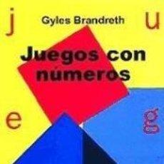Libros: JUEGOS CON NÚMEROS. Lote 243828325