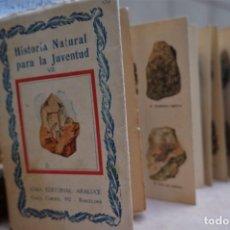 Libros: HISTORIA NATURAL PARA LA JUVENTUD/VII/MINERALES.CON 96 IL. EN COLOR. Lote 244022000