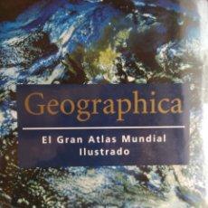Libros: OCASIÓN NUEVO GEOGRAPHICA, EL GRAN ATLAS ILUSTRADO. KONEMANN. NUEVO A ESTRENAR. Lote 250182300