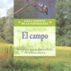 Libros: EL CAMPO. ECOGUÍA PARA DESCUBRIR LA NATURALEZA. Lote 254053260