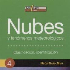 Libros: NUBES Y FENÓMENOS METEOROLÓGICOS (NATURGUÍA MINI). Lote 254210290