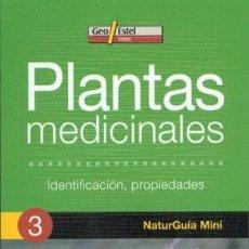 Libros: PLANTAS MEDICINALES (NATURGUÍA MINI). Lote 254210910