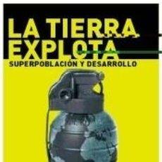 Libros: LA TIERRA EXPLOTA. Lote 254375390