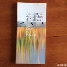 Libros: PASEANDO POR LA ALBUFERA DE MALLORCA. Lote 255321385