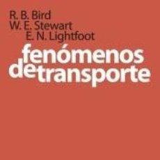 Libros: FENÓMENOS DE TRANSPORTE. Lote 255925295