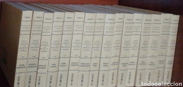 Libros: DICCIONARIO UNIVERSAL DE AGRICULTURA. 16 TOMOS. EDICIÓN FACSÍMIL - Foto 11 - 256027900