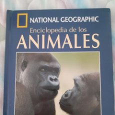 Libros: NATIONAL GEOGRAPHIC - ENCICLOPEDIA DE LOS ANIMALES - MAMIFEROS II. Lote 257720115
