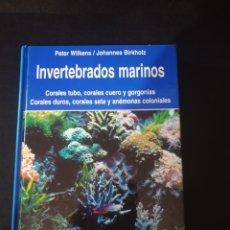 Libros: INVERTEBRADOS MARINOS.. Lote 261118750