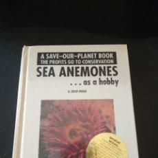 Libros: SEA ANEMONES. Lote 261202145
