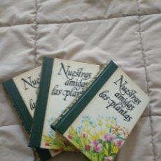 Libros: NUESTRAS AMIGAS LAS PLANTAS. Lote 261226960