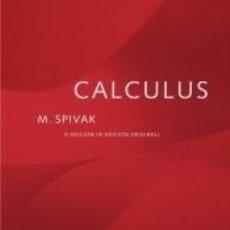 Libros: CALCULUS. Lote 261544765
