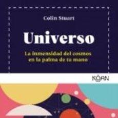 Libros: UNIVERSO: LA INMENSIDAD DEL COSMOS EN LA PALMA DE LA MANO. Lote 261696080