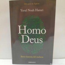 Libros: HOMO DEUS DE YUVAL NOAH HARARI. Lote 261870775