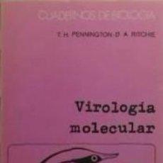 Libros: VIROLOGÍA MOLECULAR. Lote 262388650