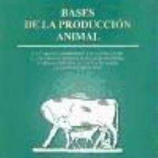 Libros: BASES DE LA PRODUCCIÓN ANIMAL. Lote 262554315