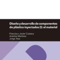 Libros: DISEÑO Y DESARROLLO DE COMPONENTES DE PLÁSTICO INYECTADOS VOL 1: EL MATERIAL. Lote 262566715