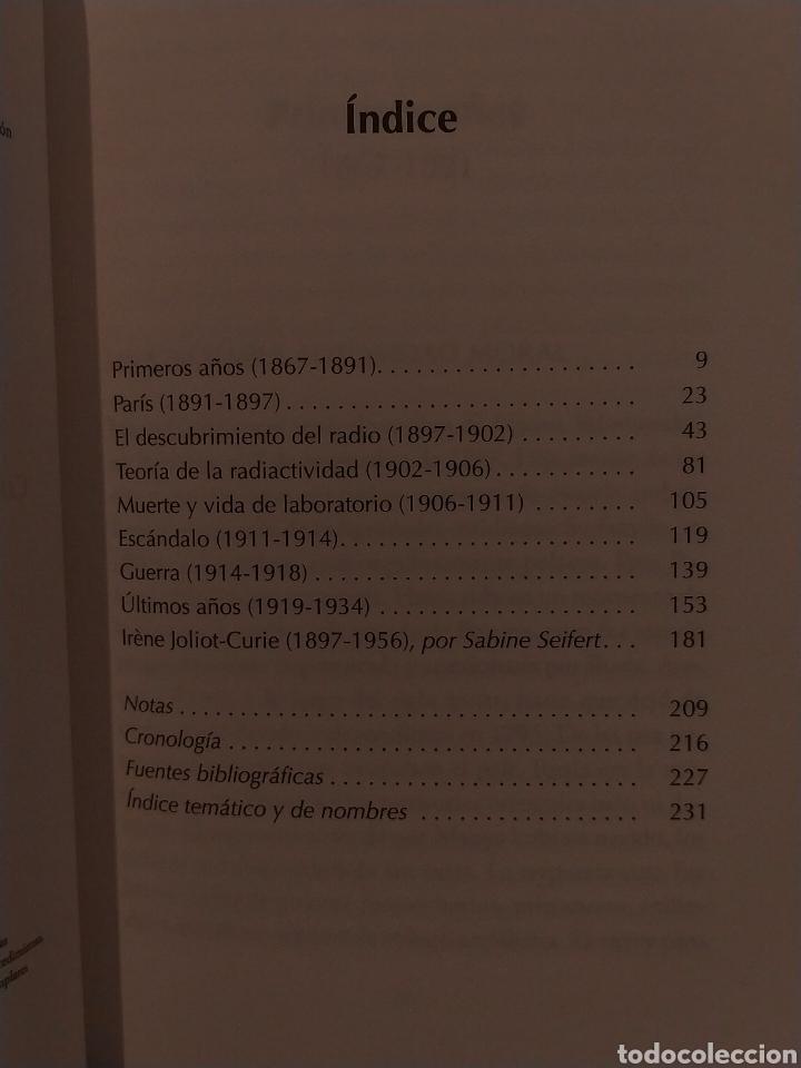 Libros: SARAH DRY. MARIE CURIE .PLATAFORMA - Foto 2 - 262823565