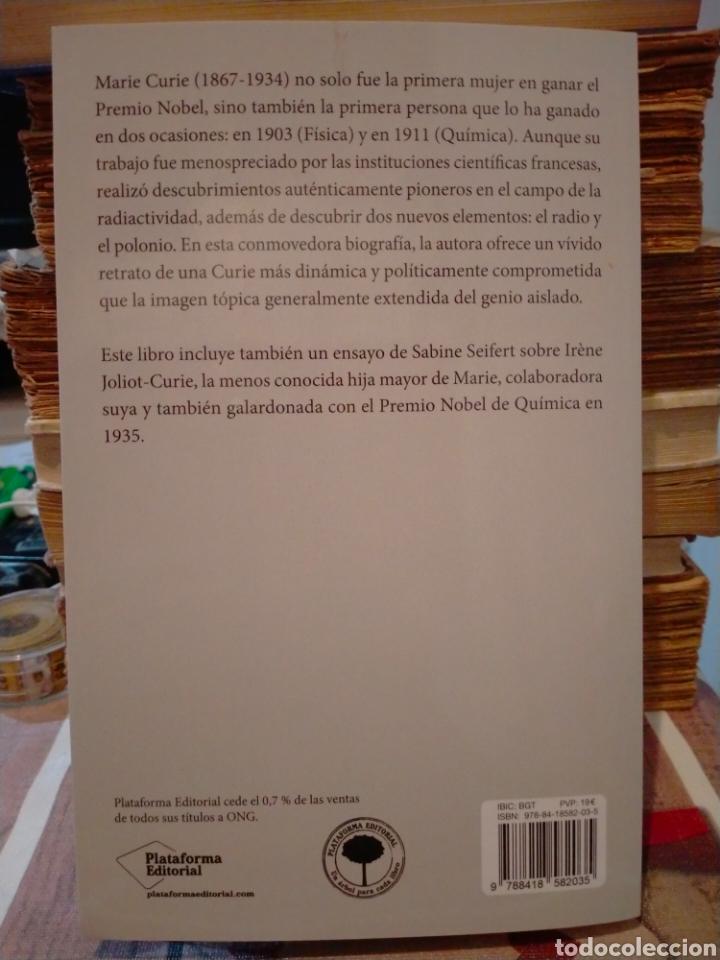 Libros: SARAH DRY. MARIE CURIE .PLATAFORMA - Foto 3 - 262823565