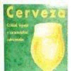 Libros: CERVEZA. CALIDAD, HIGIENE Y CARACTERÍSTICAS NUTRICIONALES. Lote 262858320
