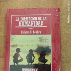 Libros: B. DIVULGACIÓN CIENTÍFICA MUY INTERESANTE *PRECINTADO* N°11 LA FORMACIÓN DE LA HUMANIDAD VOL. 1 LEAK. Lote 263050345