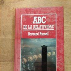 Libros: B. DIVULGACIÓN CIENTÍFICA MUY INTERESANTE *PRECINTADO* N°5 ABC DE LA RELATIVIDAD RUSSELL. Lote 263052505