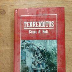 Libros: B. DIVULGACIÓN CIENTÍFICA MUY INTERESANTE *PRECINTADO* N° 38 TERREMOTOS BRUCE A. BOLT. Lote 263053425
