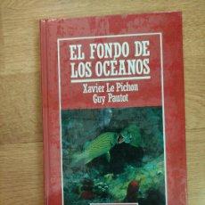 Libros: B. DIVULGACIÓN CIENTÍFICA MUY INTERESANTE *PRECINTADO* N° 34 EL FON DE LOS OCÉANOS LE PICHON PAUTOT. Lote 263054880