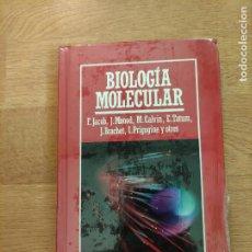 Libros: B. DIVULGACIÓN CIENTÍFICA MUY INTERESANTE *PRECINTADO* N° 30 BIOLÓGIA MOLECULAR E. JACOB Y OTROS. Lote 263056590