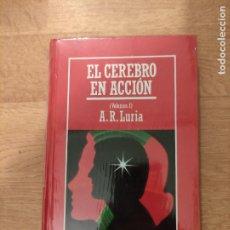 Libros: B. DIVULGACIÓN CIENTÍFICA MUY INTERESANTE *PRECINTADO* N° 56 EL CEREBRO EN ACCIÓN VOL. I LURIA. Lote 263085615