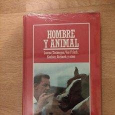 Libros: B. DIVULGACIÓN CIENTÍFICA MUY INTERESANTE *PRECINTADO* N° 25 HOMBRE Y ANIMAL K. LORENZ Y OTROS. Lote 263087420
