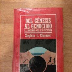Libros: B. DIVULGACIÓN CIENTÍFICA MUY INTERESANTE *PRECINTADO* N° 21 DEL GENESIS AL GENOCIDIO CHOROVER. Lote 263088425