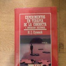 Libros: B. DIVULGACIÓN CIENTÍFICA MUY INTERESANTE *PRECINTADO* N° 44 EXPERIMENTOS EN TERAPIA LA CONDUCTA 1. Lote 263094220