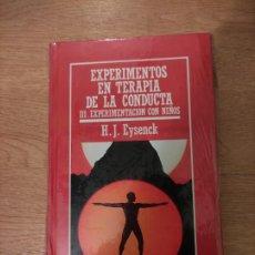 Libros: B. DIVULGACIÓN CIENTÍFICA MUY INTERESANTE *PRECINTADO* N° 47 EXPERIMENTOS TEORIA DE LA CONDUCTA III. Lote 263094675