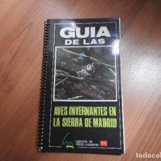 Libros: GUIA DE LAS AVES INVERNALES DE LA SIERRA DE MADRID 96 PGS 1985. Lote 263115585