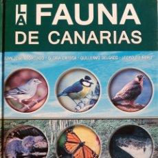Libros: LA FAUNA DE CANARIAS. Lote 265921013