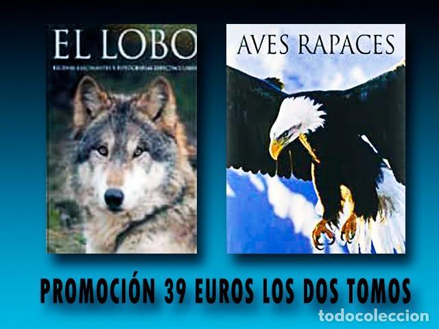 2 TOMOS. EL LOBO + AVES RAPACES. (Libros Nuevos - Ciencias Manuales y Oficios - Ciencias Naturales)