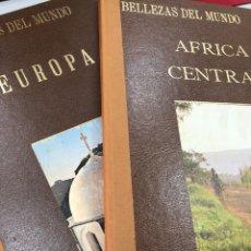 Libros: BELLEZAS DEL MUNDO SEDMAY EDICIONES - AFRICA CENTRAL Y EUROPA GRAN FORMATO. Lote 269622718
