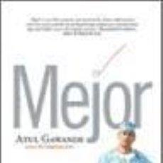 Libros: MEJOR. Lote 270535388