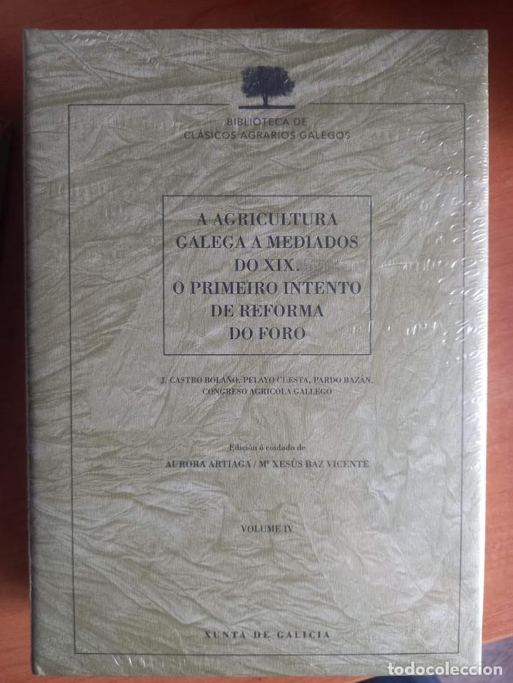 A AGRICULTURA GALEGA A MEDIADOS DO XIX. O PRIMEIRO INTENTO DE REFORMA DO FORO (Libros Nuevos - Ciencias Manuales y Oficios - Ciencias Naturales)