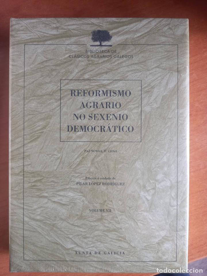 REFORMISMO AGRARIO NO SEXENIO DEMOCRÁTICO (Libros Nuevos - Ciencias Manuales y Oficios - Ciencias Naturales)