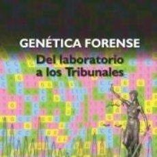 Libros: GENÉTICA FORENSE. Lote 278704343