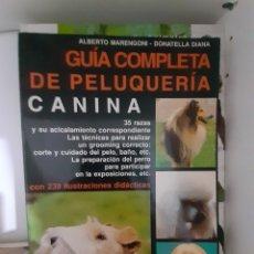 Livros: GUIA COMPLETA DE PELUQUERIA CANINA. Lote 283317348
